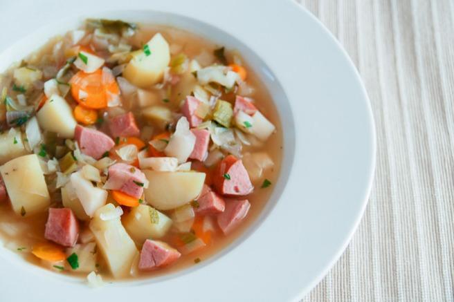 Så godt! Suppen kan også spise som restemat dagen etter. Foto: Lise von Krogh