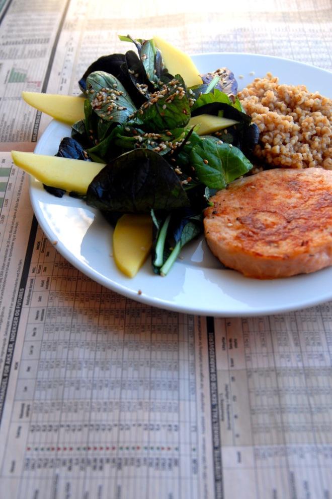En sunn sammensatt porsjon. Foto: Lise von Krogh