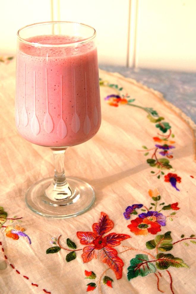 En smoothie rik på vitamin C og folat. Foto: Lise von Krogh