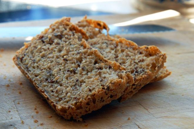 Myk og saftig brød. Foto: Lise von Krogh