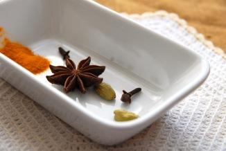 Disse krydderne hever risen til himmelen. Foto: Lise von Krogh