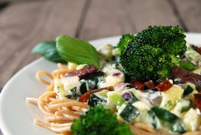 En næringsrik og økologisk middag. Foto: Lise von Krogh