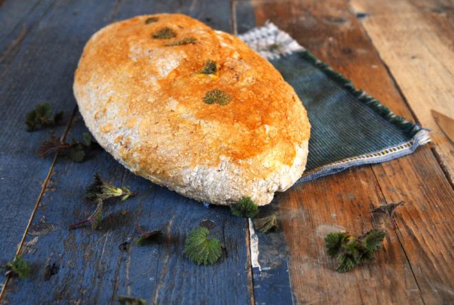 Godt brød med nestle. Foto: Lise von Krogh
