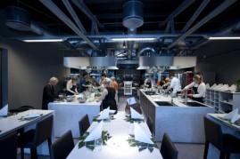 Full aktivitet på Kulinarisk Akademi. Foto: Sindre Lundvold.