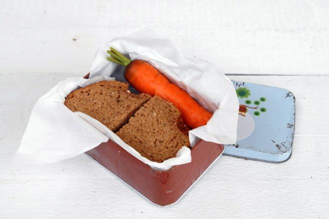 Den enkleste matpakken. Foto: Lise von Krogh