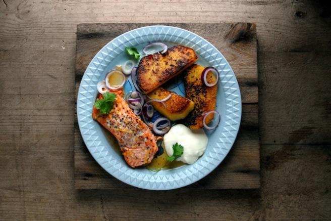 Prøv en fantastisk deilig og supersunn middag med kålrabibiffer. Foto: Lise von Krogh.