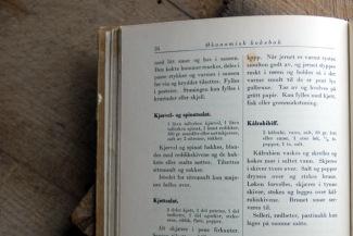 Originaloppskriften fra 1940. Foto: Lise von Krogh