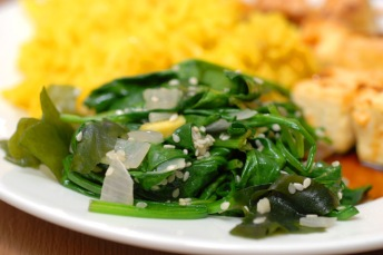 Varm salat. Foto: Lise von Krogh.