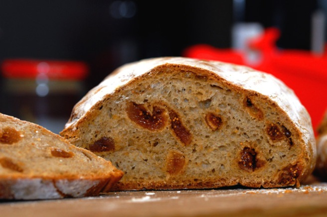 Masse fiken i brødet. Foto: Lise von Krogh