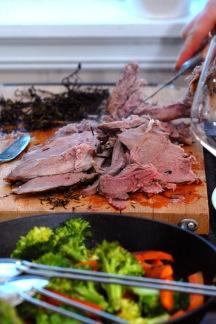 Nydelig kjøtt! Foto: Lise von Krogh.