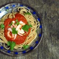 Enkel, sunn, god, billig og økologisk pastasaus