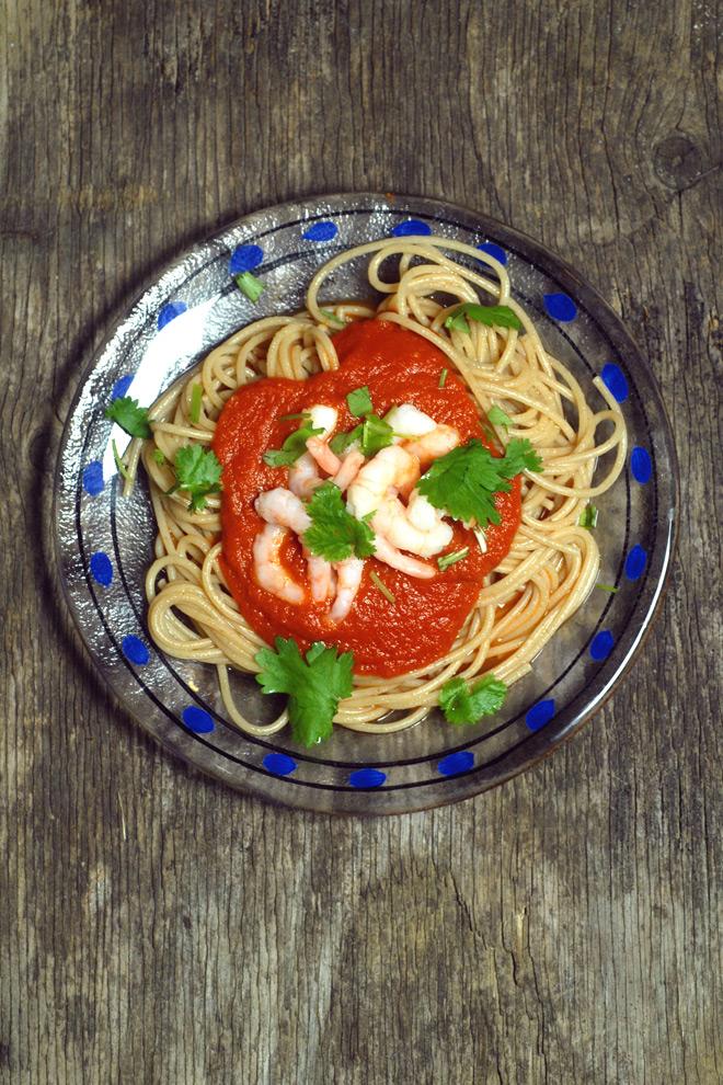 Digg tomatsaus. Foto: Lise von Krogh.
