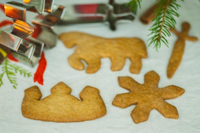 Fine Julekongen-pepperkaker. Foto: Lise von Krogh.