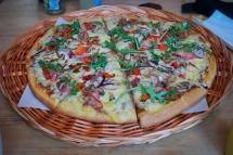 Økologisk panpizza. Foto: Lise von Krogh ©
