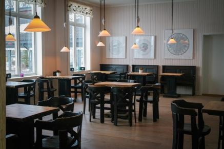 Kaféen på Kjøkkenhagen. Foto: Lise von Krogh ©