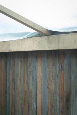 Brukt plank får ny nytte. Foto: Lise von Krogh ©