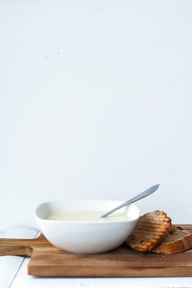 Blomkålsuppe. Foto: Lise von Krogh ©
