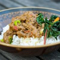 Malaysisk beef rendang