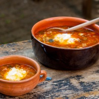 Minestronesuppe på ekte italiensk vis