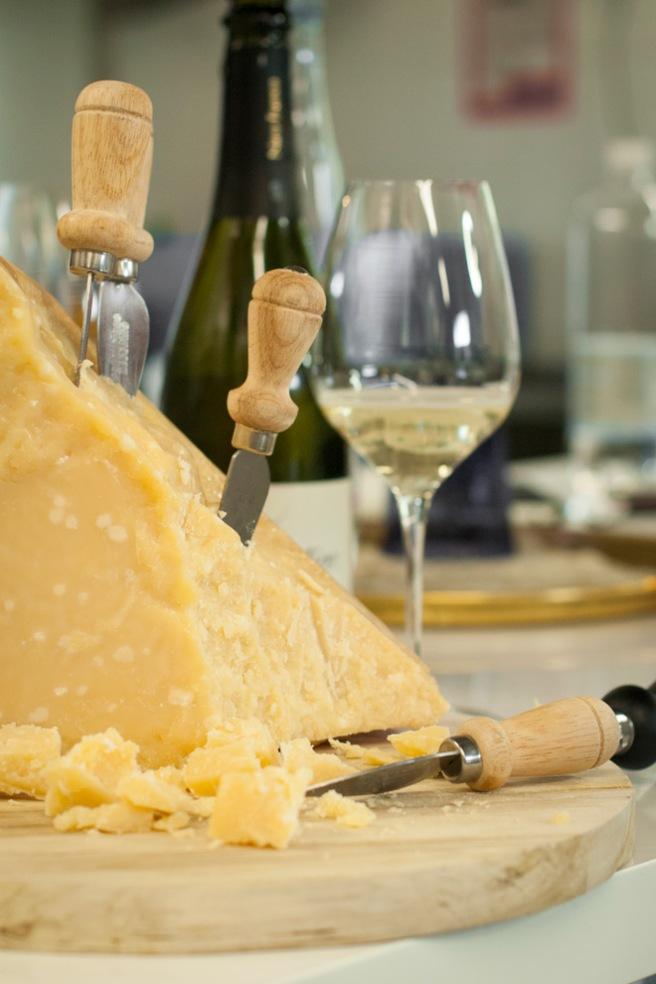 Parmigiano Reggiano . Foto: Lise von Krogh ©
