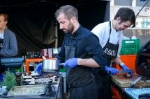Grillmat er populært. Foto: Lise von Krogh.
