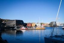 Tromsø i sol. Foto: Lise von Krogh.