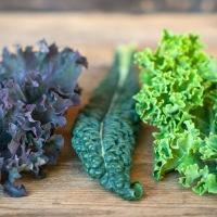 3 ulike bladkål og trinnvis oppskrift på grønnkålchips