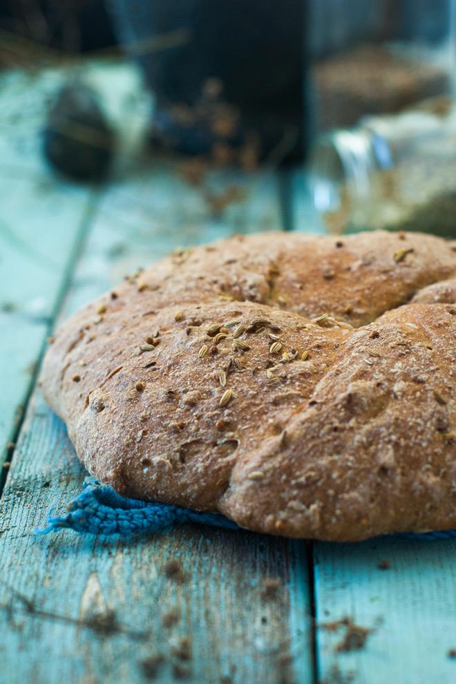 Korianderbrød. Foto: Lise von Krogh ©
